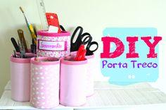 DIY Porta Treco Reciclável