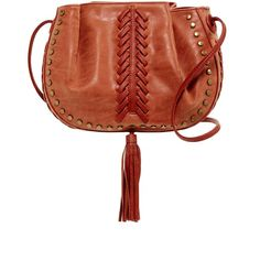 124d6427bf06 LIONEL Larita Studded Crossbody (2.415 RUB) ❤ liked on Polyvore featuring  bags