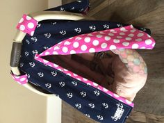 Car Seat Canopy Free Shipping Code Today Nautical By CoveredNLove1