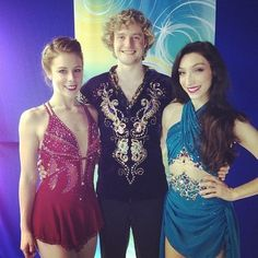 Ashley Wagner with Meryl & Charlie
