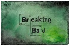 Breaking Bad watercolor Tumblr