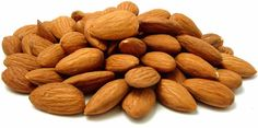 Almonds contain Vitamin E to brighten skin and essential fatty acids for that healthy glow