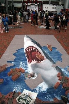Art on the street. Amazing!