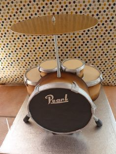 Drum Cake for 18th birthday