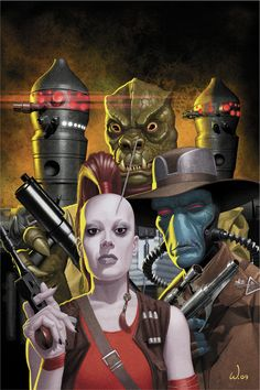 Bounty Hunters - Star Wars - Jason St. John Wright