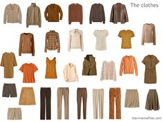 The Vivienne Files: 12 Months, 12 Outfits in a Brown-Based Capsule Wardrobe: An Evaluation