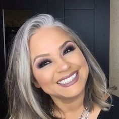 Gray Hair Growing Out, Grow Hair, Grey Hair Journey, Grey Hair Transformation, Silver Haired Beauties, Grey Hair Styles For Women, Grey Hair Inspiration, Salt And Pepper Hair, Grey Scale