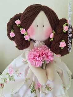 Handmade Doll - fabri cdoll - Doll - Sweethandmadedolls.com