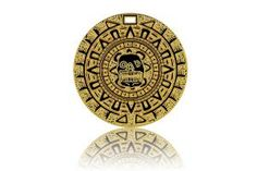 Cursed Aztec Toy Gold Treasure Pirate Coin