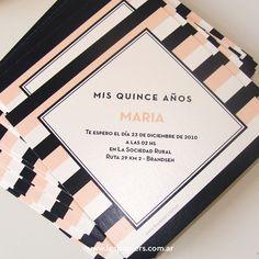 Les Papiers Invitaciones: Tarjetas de 15 de Camila - Sobres de Origami - Brandsen Lettering, 15 Years, Birthday, Origami, Garden, Mariana, Paper, Bebe, 15 Anos
