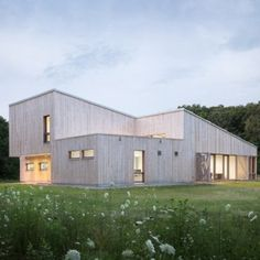 Cedar-clad field station by GO Logic  houses University of Chicago laboratory nice wood colour