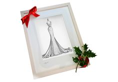 How would you FEEL if this was your gift for Christmas? If this was your wedding dress immortalised in ink? Limited spaces available so please BOOK it in. I love illustrating and capturing every single detail of your dress, bouquet and shoes. With 7 years in my dream job I love it more than ever - and it shows in the illustrations I send out. Ship worldwide #christmasgift2020 #irishmadegift ##weddingdressink #fashionsketch #irishfashionlover #fashionlovergift #shopirish #irishartgift