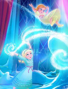 Disney Frozen Elsa and Anna picture #DisneyFrozen