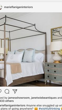 If coming up with master bedroom decorating ideas can be fun, implementing them is where you may run into a … Closet Bedroom, Dream Bedroom, Home Decor Bedroom, Modern Bedroom, Bedroom Furniture, Bedroom Ideas, Bedroom Inspiration, Guest Bedrooms, Master Bedrooms