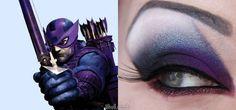 Hawkeye makeup