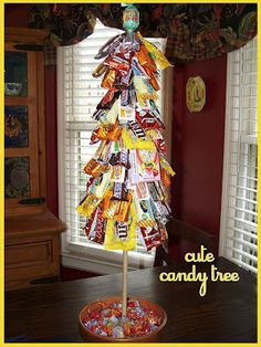A Bushel and a Peck of FUN: Such a Cute Idea - candy tree