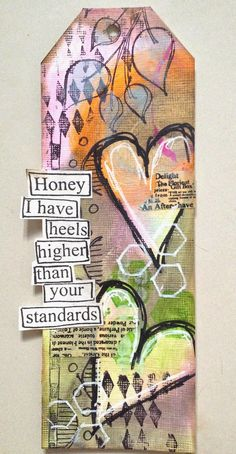 GIVEAWAY | MIXED MEDIA TAG 3