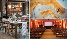 Weddings at the History Colorado Center in the heart of Denver, Colorado.