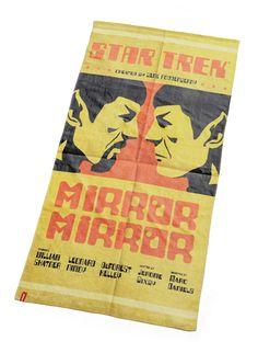Star Trek Mirror Mirror Beach Towel $19.99