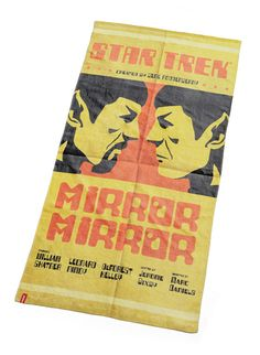 ThinkGeek :: Exclusive Star Trek Mirror Mirror Beach Towel
