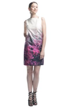 Forest Print Dress by Pedro Lourenco for Preorder on Moda Operandi