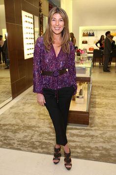 Nina Garcia. She makes standing look so easy.