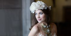 Hart House style shoot, gorgeous headpiece by Laura Jayne and stunning necklace from Jewellery by Karen Hart House, American Photo, Top Wedding Photographers, Fine Art Wedding Photography, Headpiece, Boston, Jewellery, House Styles, Fashion