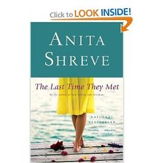 I love  a lot of Anita Shreve, but this is my favorite