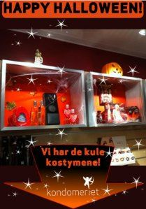 Halloween på Kondomeriet!