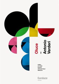 Mark Gowing is an Australian-based designer. His work encompasses a variety of media, but I find his poster design to be especially compelling. With a Swiss-oriented reference point, Gowing effectively utilizes simple, geometric shapes with engaging results. #posters #inspiration #design