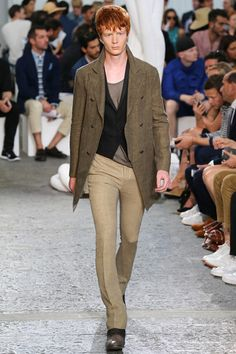 John Varvatos Spring 2015 Menswear Collection Slideshow on Style.com