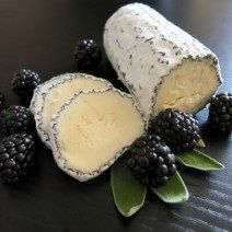 """Chaseholm Farm cheese's """"Moonlight Chaource"""" one of their many delicious artisan cheeses"""