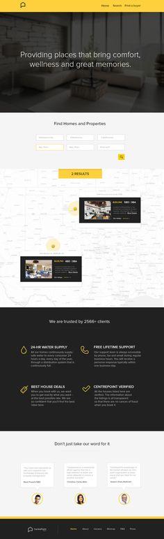Real Estate Branding and UI/UX by Jekin Gala, via Behance