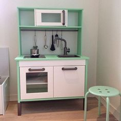 mommo design: HACK AND PLAY....pink and mint Duktig