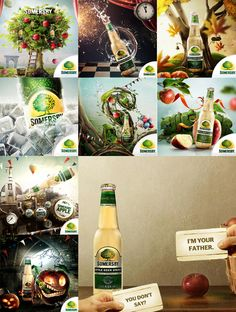 World of Somersby by Kamil Bugno, via Behance