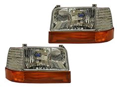 F150 F250 6PC CHROME HEADLIGHTS WITH AMBER PARK SIGNALS >>> Details can be found by clicking on the affiliate link Amazon.com.
