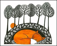 'When The Sun Rises' by Cathy Connolley, available from Caitlihne on Etsy.