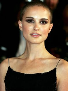 I'm not going to look like Natalie Portman bald, but some day I'd like to shave all of my hair off.