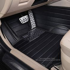 Custom fit car floor mats for Audi A1 A3 A6 A7 A8 Q3 Q5 Q7 TT 3D car styling heavy duty all weather carpet floor liners(China (Mainland))