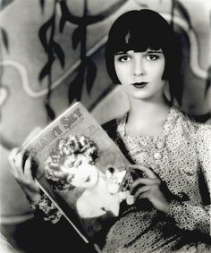 Louise Brooks, silent film actress