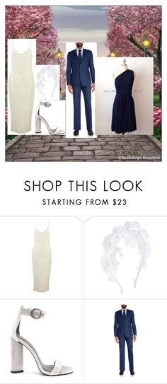 """""""Kayla's Wedding Day"""" by winterparks ❤ liked on Polyvore featuring Monsoon, Kendall + Kylie and English Laundry"""