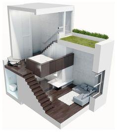 arredare un piccolo appartamento moderno secondo james bartolacci