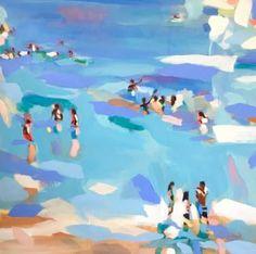 "Saatchi Art Artist Elizabeth Lennie; Painting, ""Beachlife 17"" #art"
