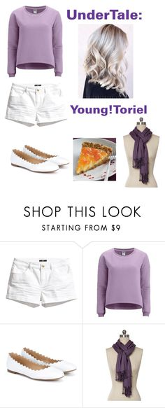 """""""UnderTale: Young!Toriel"""" by derpiplier ❤ liked on Polyvore featuring H&M, Vero Moda and Chloé"""