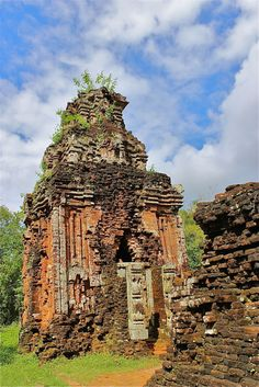 My Son Jungle Temples and Sanctuary, The temples of My Son outside of Hoi An are absolutely stunning. There is much damage to the temples from the Vietnam War, but what remains is an incredible experience.