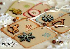 Vánoční jmenovka na dárky mix velký Sliders, Merry Christmas, Greeting Cards, Sugar, Cookies, Desserts, Inspiration, Tags, Food