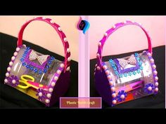How to Make a Bag/purse Out of Recycled Plastic Bottles - Handbags made of recycled material - YouTube