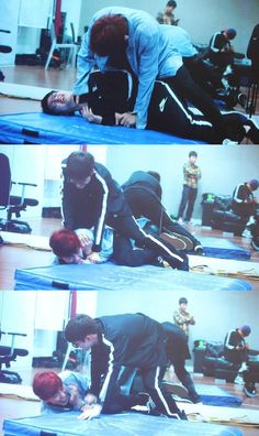 Don't Go : VCR - Chanyeol and D.O.