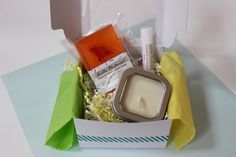Small Spa Gift Set 005 Natural Soap Lotion by HelloNaturalShop