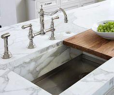Chop Smart - Sliding Cutting Board over sink...